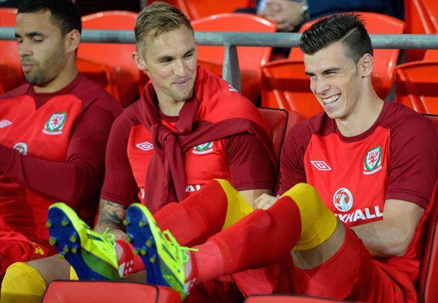 Gales 0-3 Serbia: Gareth Bale debuta esta temporada en la derrota galesa