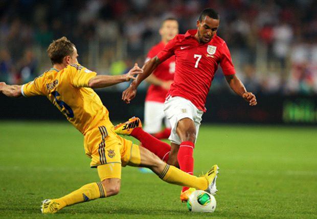 Ucrania 0-0 Inglaterra: Rickie Lambert no pudo esta vez
