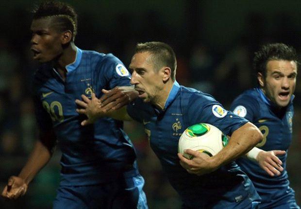 Lloris menganggap Ribery adalah inspirtor kemenangan timnya atas Belarusia