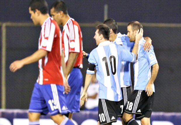 El triunfo en el Defensores del Chaco definió la clasificación del equipo de Sabella.