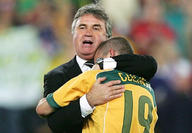 Australia quiet on Hiddink & Houllier links