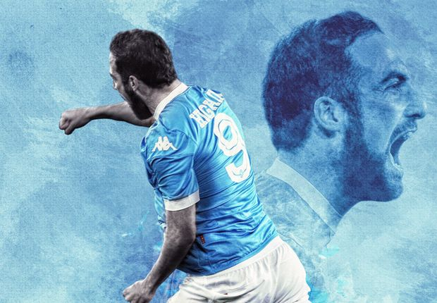 From lazy to lethal: How Sarri turned Higuain into Serie A's most prolific striker ever - Goal.com