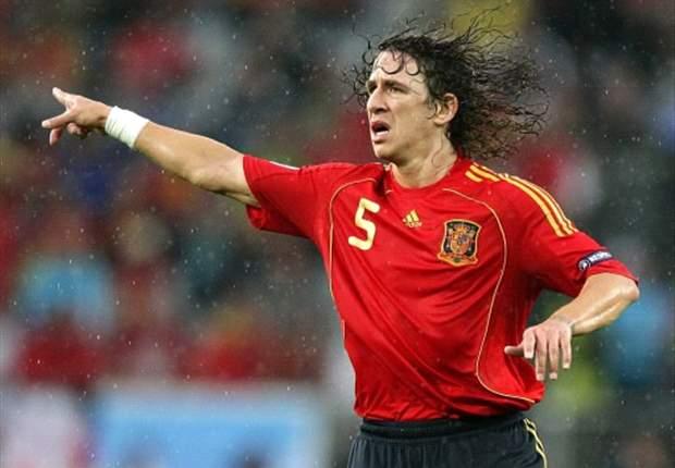 Puyol llega a los 100 partidos como internacional con España