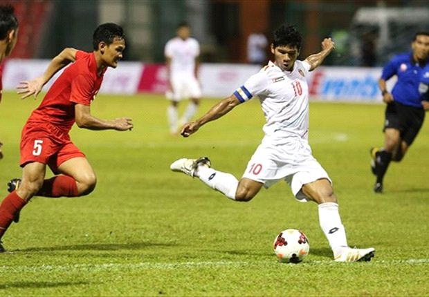 The Burmese cruised past Singapore U23 2-0 last Tuesday.