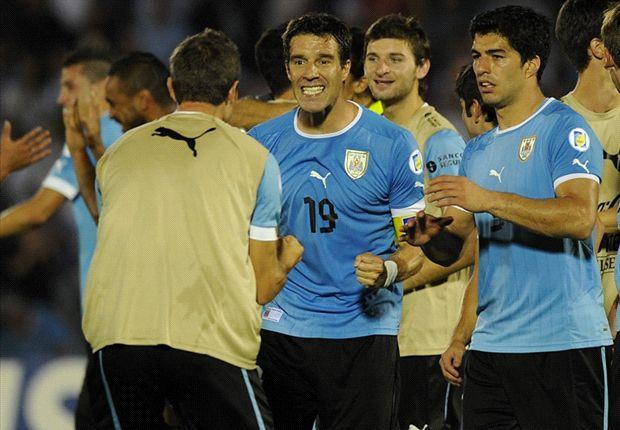 Uruguay ganó los últimos 9 puntos disputados y va por el buen camino