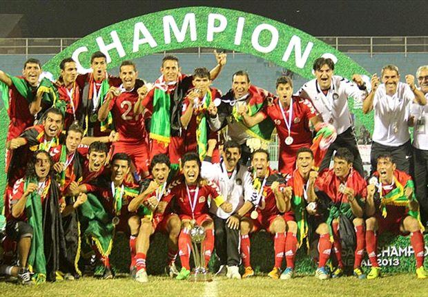 Afghanistan ist Südasienmeister