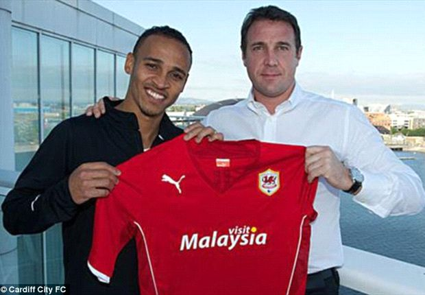 Peter Odemwingie could make Cardiff bow against Hull City on the wing