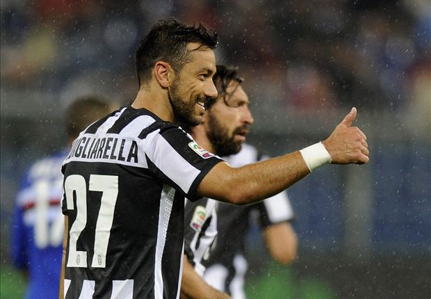 Quagliarella rejected moves away from Juventus - agent