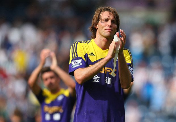 Laudrup 'very important' to Swansea, says Michu