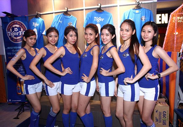 Tiger FC brand ambassadors add the feminine touch to football.