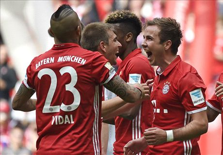 REPORT: Gotze grabs two for Bayern