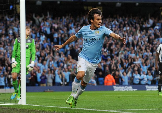 David Silva could return to face Manchester United, says Pellegrini