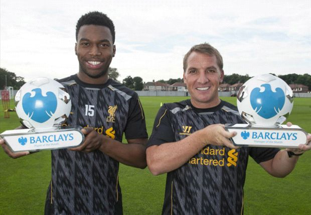 Sturridge & Rodgers named Premier League Player & Manager of the Month for August