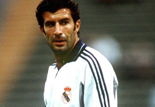 Luis Figo fiel der Wechsel von Barcelona nach Madrid ziemlich leicht