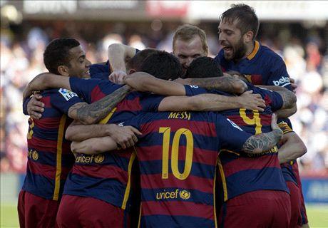 Ratings: Granada 0-3 Barcelona