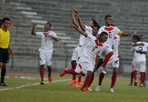 Pelatih Timor Leste Mengaku Beruntung Kalahkan Kamboja