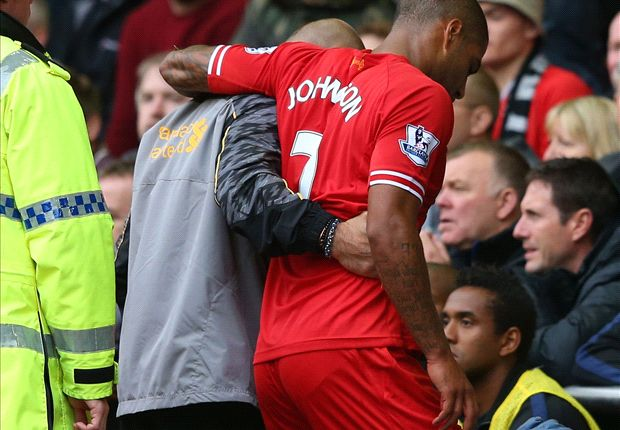 Liverpool confirm Johnson out for a month with ankle injury