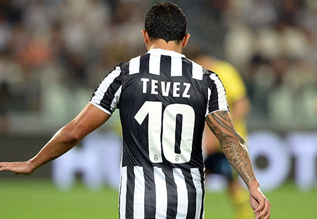 Tevez: Hard work paying off for Juventus