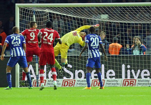Der VfB durfte in Berlin jubeln