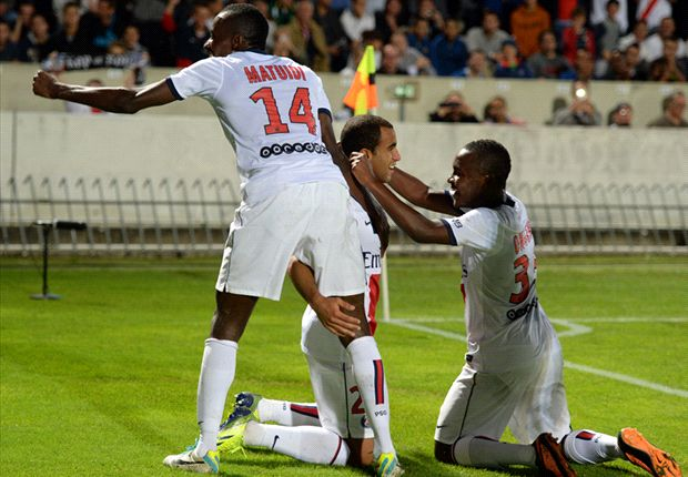 Bordeaux 0-2 Paris Saint-Germain: Lucas nets first goal for champions in comfortable win