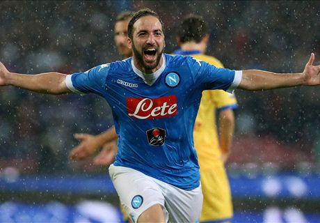 'Higuain will not renew Napoli contract'
