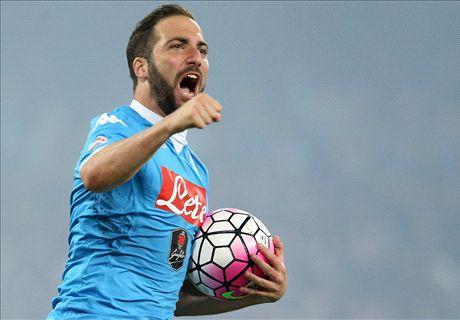 Higuain closes in on Juventus move