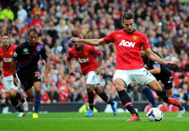 Manchester United 2-0 Crystal Palace: Van Persie & Rooney fire as Fellaini makes Old Trafford bow