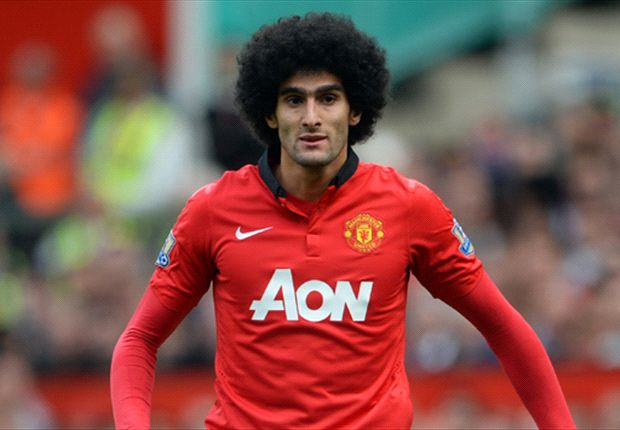 Marouane Fellaini arms United against Yaya Toure for the Manchester derby