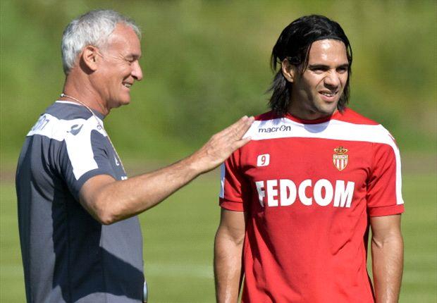 Monaco-Coach Claudio Ranieri ruft für Torjäger Radamel Falcao eine unfassbare Summe auf