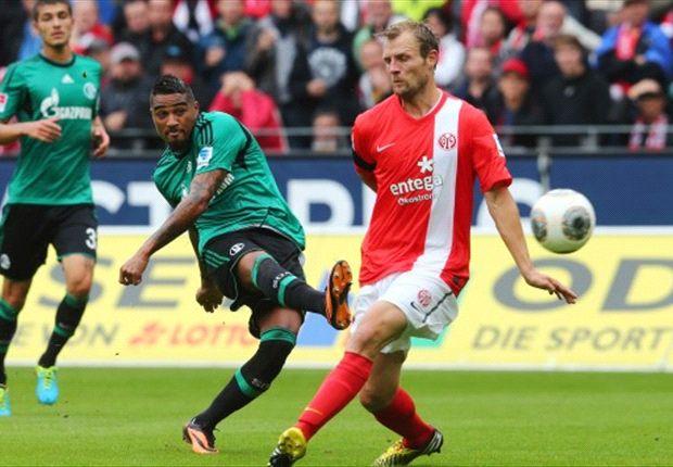 Der goldene Schuss: Boateng markierte das 1:0 für Schalke