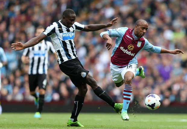 Aston Villa 1-2 Newcastle: Late Gouffran winner lifts Pardew's men