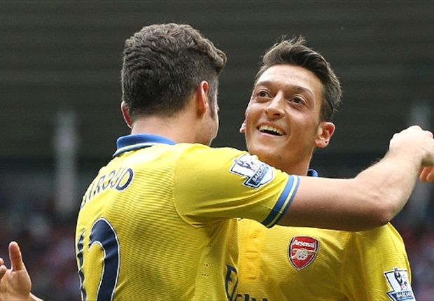 Giroud: Everything is easier with Ozil