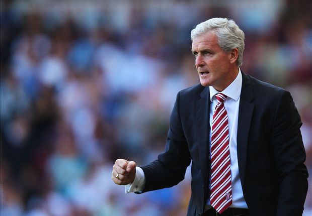 Stoke buoyed by Pellegrini's six Manchester City changes, says Hughes