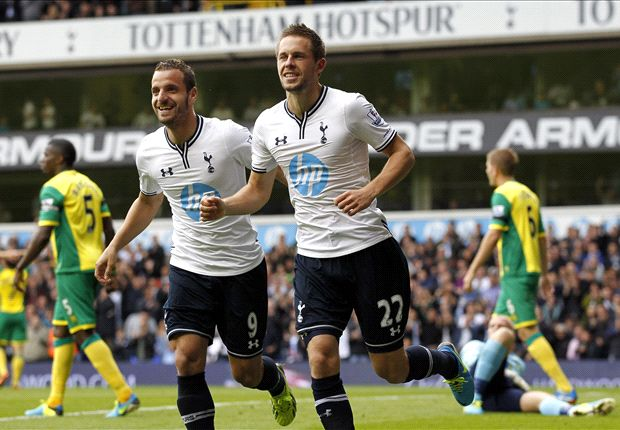 Tottenham boss Villas-Boas praises Sigurdsson after Norwich brace