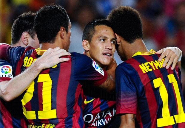 Alexis: Neymar is more than just Messi in disguise