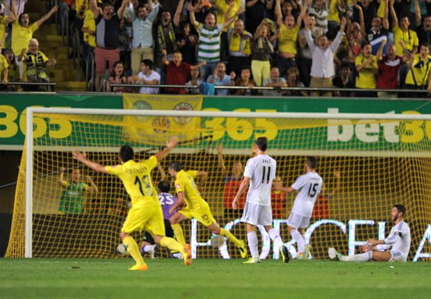 Villarreal 2-2 Real Madrid: Bale & Ronaldo goals cancelled out by Submarine strikes