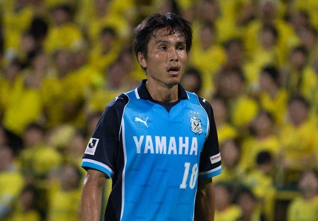 Ryoichi Maeda menjadi bintang kemenangan Jubilo Iwata atas Kashiwa Reysol