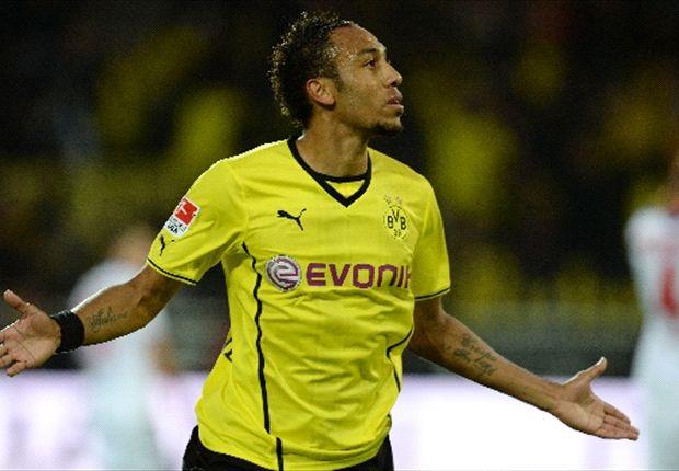 Pierre-Emerick Aubameyang ist mit seinem persönlichen Start bei Borussia Dortmund zufrieden
