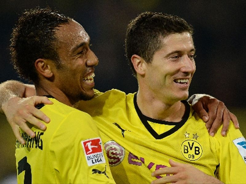 Video: A bit of my motivation left with Aubameyang - Lewandowski