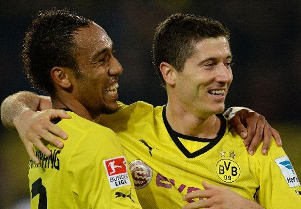 I love giving everything for Dortmund, says Lewandowski