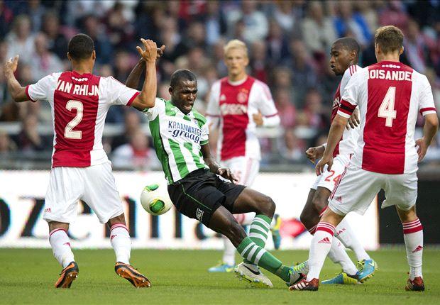 Ajax end Zwolle's unbeaten start