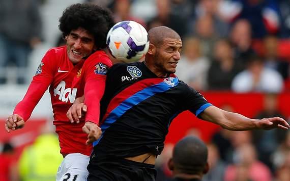 Adlene Guedioura & Marouane Fellaini, Manchester United vs Crystal Palace