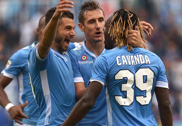 REVIEW Serie A Italia: Lazio, Livorno, Verona Raup Poin Sempurna