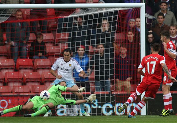 Southampton 0-0 West Ham: Jaaskelainen denies Saints home win