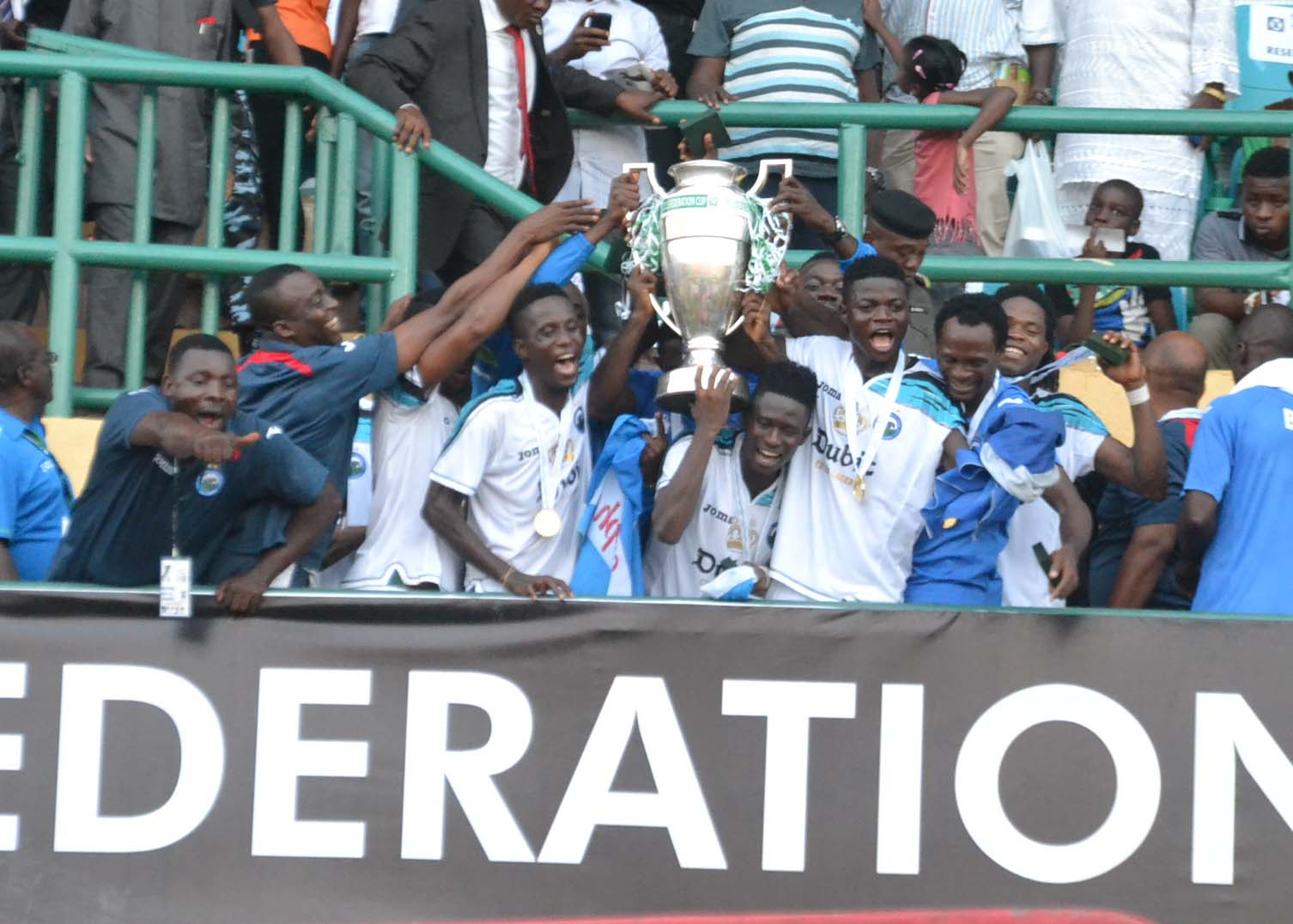 In Pictures: Enyimba win 2013 Federation Cup
