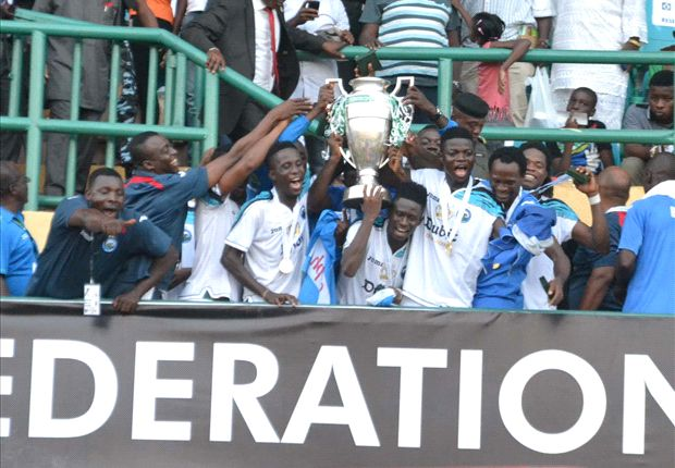 Enyimba are on the brink of winning the double this season