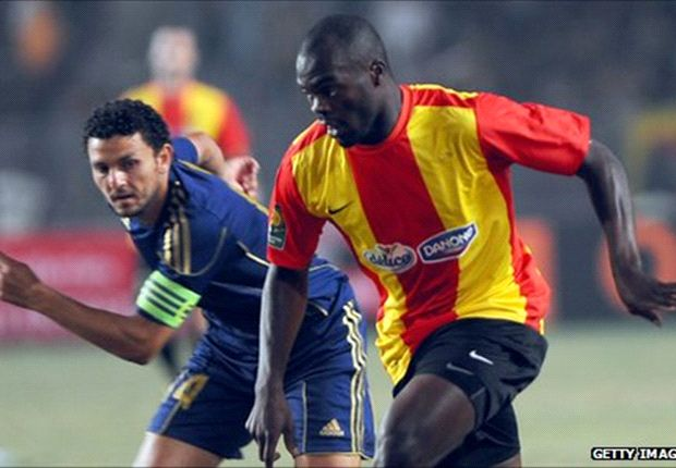 Yannick Ndjeng's brace helped settle matters for his side Esperance