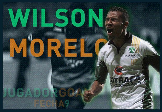 Wilson Morelo el Jugador Goal de la Fecha 9