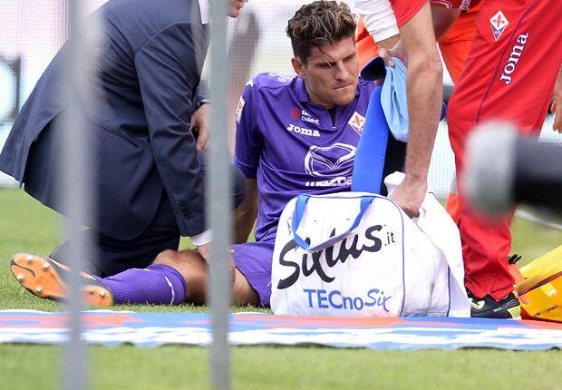 Der AC Florenz muss sechs bis sieben Wochen auf Mario Gomez verzichten