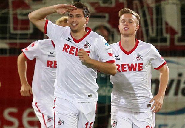 Der 1. FC Köln will auch im Spitzenspiel wieder jubeln